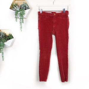 Anthro | Pilcro and the letterpress corduroy Jeans